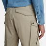 G-Star RAW® Rovic Zip Loose 1/2-Length Shorts Beige model back zoom