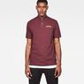 G-Star RAW® 29 Art Polo Purple model front