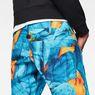 G-Star RAW® G-Star Elwood X25 3D Tapered Men's Shorts Light blue front flat