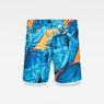 G-Star RAW® G-Star Elwood X25 3D Tapered Men's Shorts Light blue front