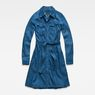 G-Star RAW® Tacoma Dress Medium blue flat front