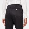 G-Star RAW® Bronson Low Waist Boyfriend Chino Black model back zoom