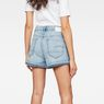 G-Star RAW® Arc High waist Boyfriend Ripped Shorts Hellblau model