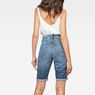 G-Star RAW® 3301 High waist Straight Ripped Shorts Medium blue model