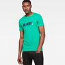G-Star RAW® Lyl Slim T-Shirt Green model front
