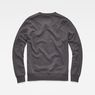 G-Star RAW® Loaq Sweater Grey flat back