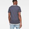 G-Star RAW® 05 Wabash T-Shirt Dark blue model back