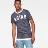 G-Star RAW® 05 Wabash T-Shirt Dark blue model front