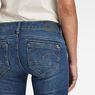 G-Star RAW® Midge Zip Mid-Waist Skinny Jeans Dark blue