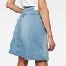 G-Star RAW® Arc Wrap Skirt Light blue