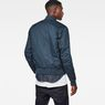 G-Star RAW® Rackam Deconstructed Padded Bomber Medium blue model back