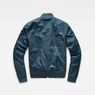 G-Star RAW® Rackam Deconstructed Padded Bomber Medium blue flat back