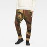 G-Star RAW® Oversized  Dutch Camo 5621 3D Tapered Sweatpants Green model front