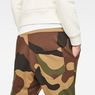 G-Star RAW® Oversized  Dutch Camo 5621 3D Tapered Sweatpants Green model back zoom