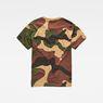 G-Star RAW® Kurser Loose T-Shirt Grün flat back