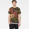 G-Star RAW® Kurser Loose T-Shirt Grün model front