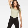 G-Star RAW® Teri  Slim T-shirt Green model front