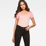 G-Star RAW® Teri  Slim T-shirt Pink model front