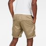 G-Star RAW® Bronson 1/2-Length Shorts Beige model back
