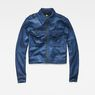 G-Star RAW® Army Cropped Jacket Medium blue flat front