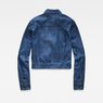 G-Star RAW® Army Cropped Jacket Medium blue flat back