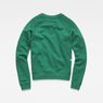 G-Star RAW® Carinsio Cropped Sweater Green flat back