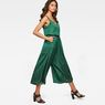 G-Star RAW® Bristum Wide Leg 7/8 Jumpsuit Green model back