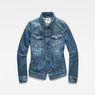 G-Star RAW® 3301 Jacket Medium blue flat front