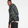 G-Star RAW® Stor Anorak Overshirt Green model side