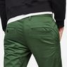 G-Star RAW® Bronson Slim Chino Green model back zoom