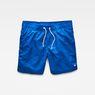 G-Star RAW® Dirik Swimshorts Medium blue front bust