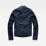 G-Star RAW® Deline Slim Jacket Dunkelblau model side