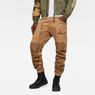 G-Star RAW® Powel 3D Tapered Cuffed Pants Brown model front