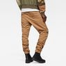 G-Star RAW® Powel 3D Tapered Cuffed Pants Brown model back