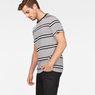 G-Star RAW® Makauri Stripe-5 T-Shirt White model side