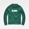 G-Star RAW® Hodin Sweater Green flat front