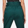 G-Star RAW® Rovic High waist Paperbag Pants Green model back zoom