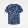 G-Star RAW® Graphic Hawaii Camo Relaxed T-Shirt Dark blue flat back