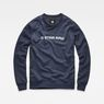 G-Star RAW® Loaq Sweater Dark blue flat front