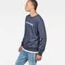 G-Star RAW® Loaq Sweater Dark blue model side