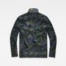 G-Star RAW® Type C Utility Overshirt Green flat back