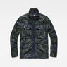 G-Star RAW® Type C Utility Overshirt Green flat front