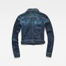 G-Star RAW® D-Staq Deconstructed Denim Jacket Medium blue flat back