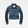 G-Star RAW® D-Staq Deconstructed Denim Jacket Medium blue flat front