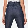 G-Star RAW® Rovic High waist Paperbag Pants Dark blue model back zoom