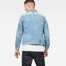 G-Star RAW® 3301 Slim Jacket Medium blue model back