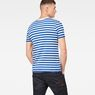 G-Star RAW® Kantano Slim T-Shirt Medium blue model back