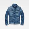 G-Star RAW® Vodan 3D Slim Jacket Medium blue flat front