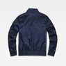 G-Star RAW® Deline Track Overshirt Dark blue flat back
