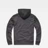 G-Star RAW® Doax Hooded Sweater Grey flat back
